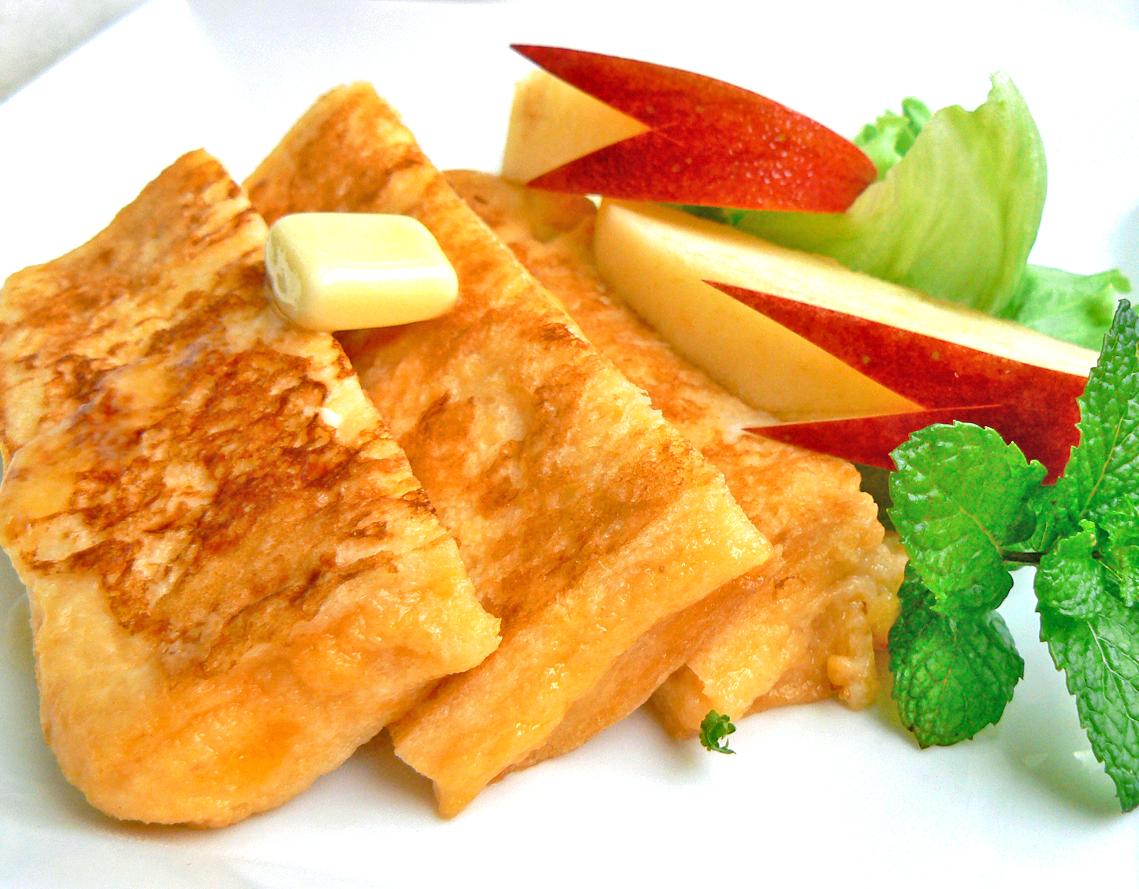 フレンチトースト ★六漢生姜湯使用