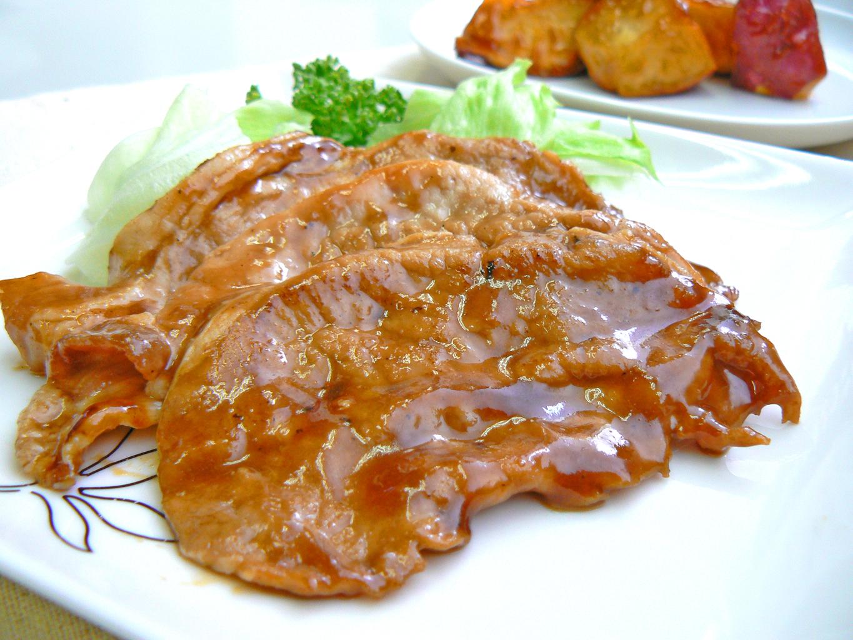 豚肉の生姜焼き ★蒸し生姜湯使用