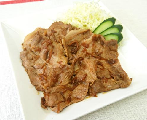 ご飯がすすむ!豚肉の生姜焼き