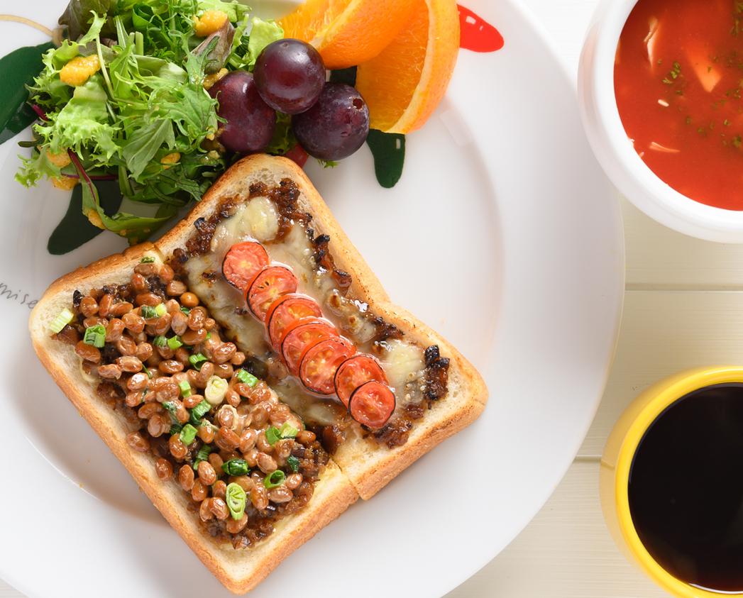 和風ピザトースト ★生姜の佃煮